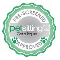 Good Dog! Coaching & Pet Care earned the petsitting.com seal of approval