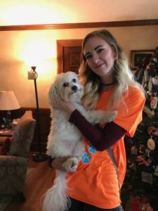 pet sitter bio cassie willcoxon