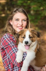 pet sitter bio calli gaston