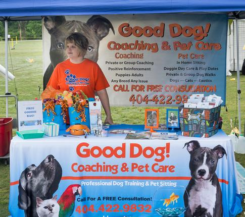 Good Dog! Coaching & Pet Care at Pawfest