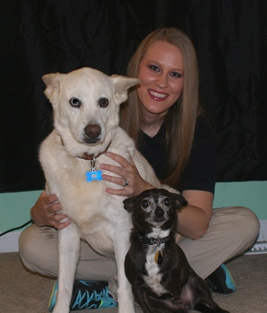 pet massage from pet sitter in suwanee