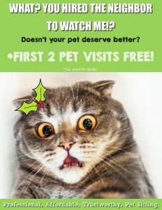 2 Free Pet Sitting Visits