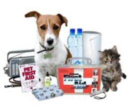 Pet Disaster Preparedness kit